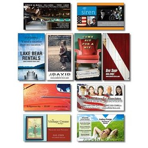 30 Mil TuffMag� Outdoor Business Card Magnet w/Square Corners
